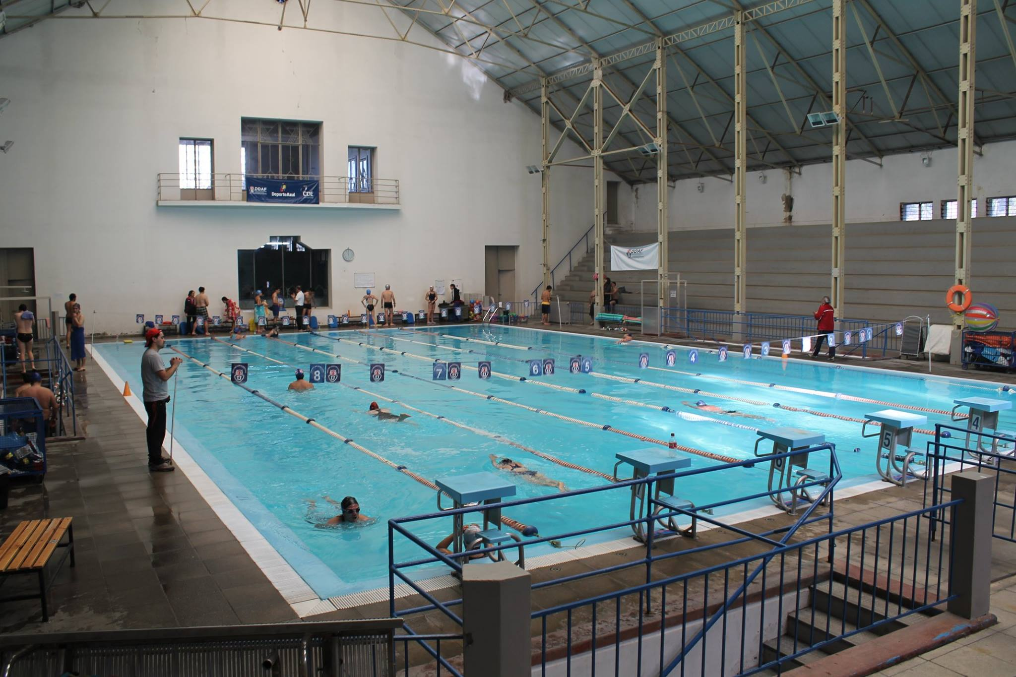 municipalidad de independencia piscina escolar de la u